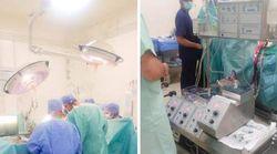 Une première opération chirurgicale cardiaque des valves réussie à l'hôpital public de