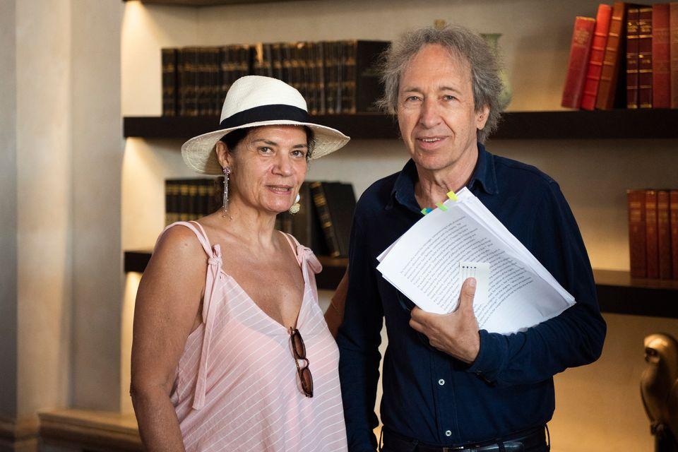 Ο Pascal Bruckner μαζί με την κ. Λένα...