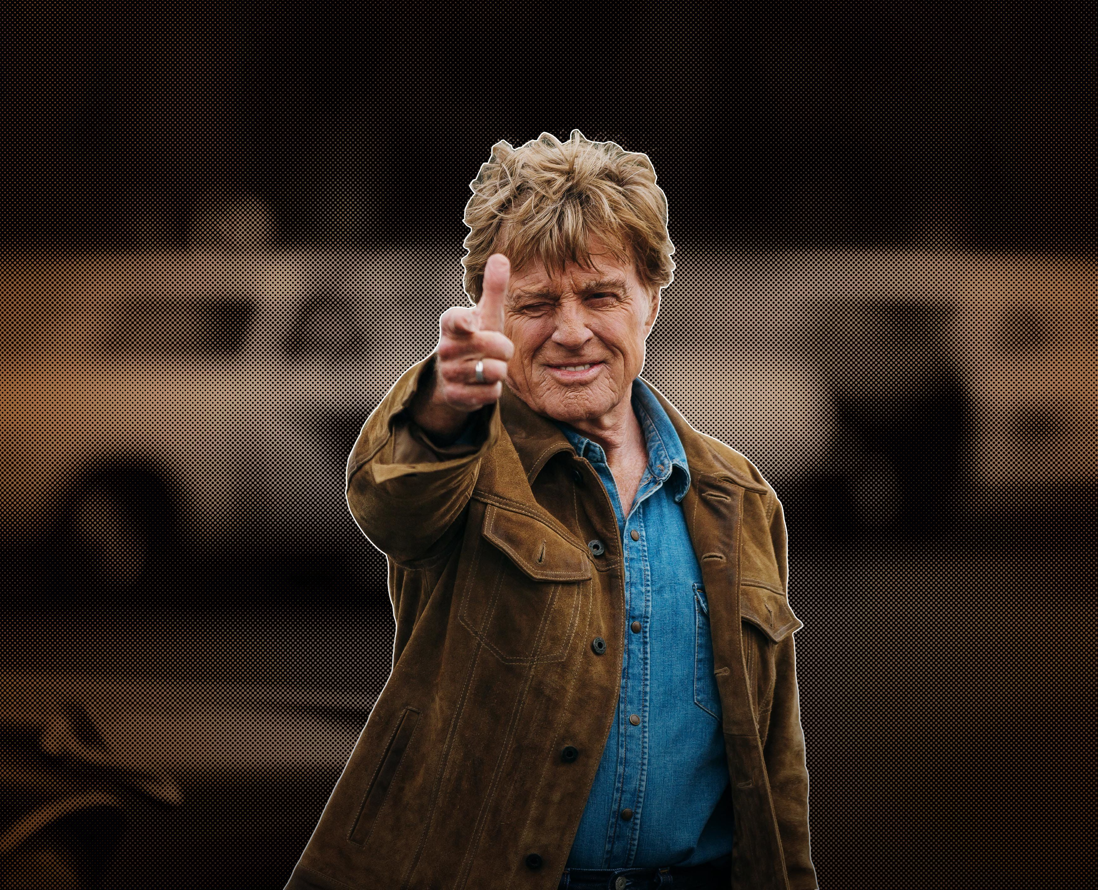 "Robert Redford as ""Forrest Tucker"" in the film THE OLD MAN & THE GUN. Photo by Eric Zachanowich. © 2018 Twentieth Century Fox Film Corporation All Rights Reserved"