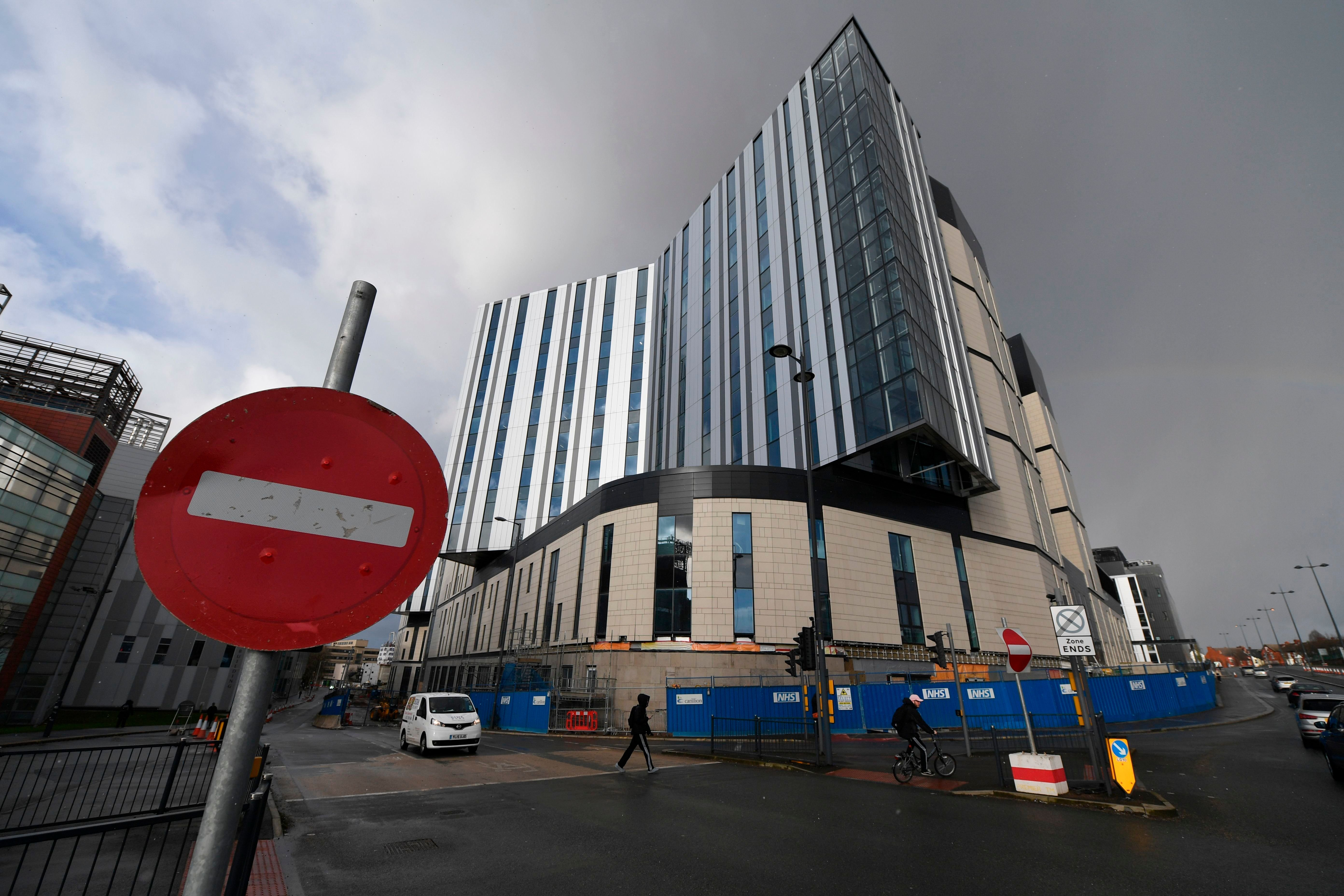Labour Government 'Would Use Public Funds To Finish Hospital Left In Limbo By Carillion