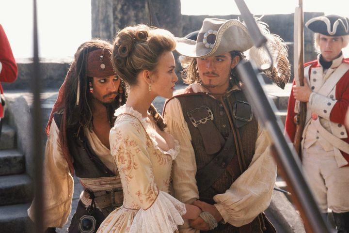 """Pirates of the Caribbean"" on Netflix."