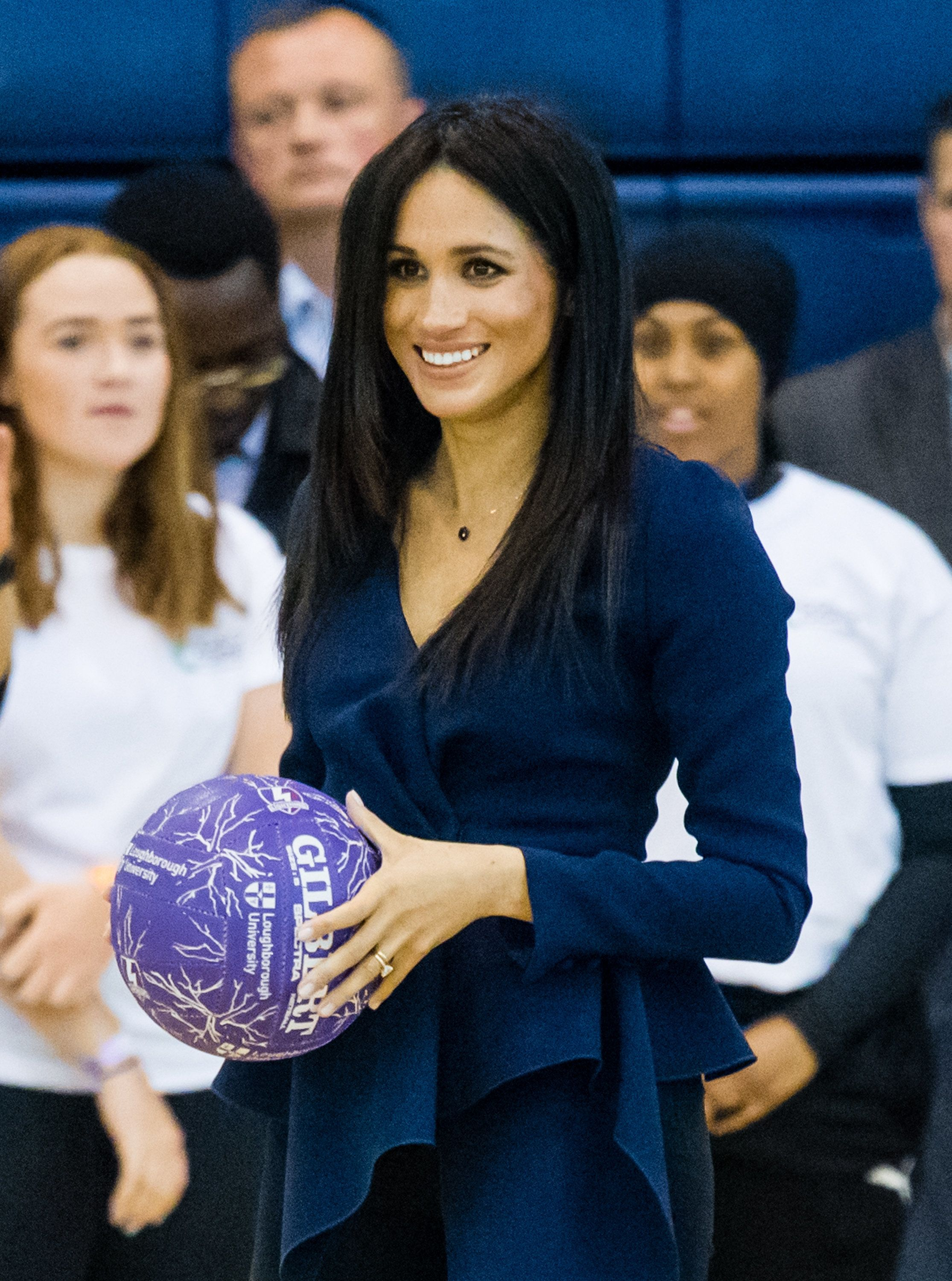 LOUGHBOROUGH, ENGLAND - SEPTEMBER 24:  Meghan, Duchess of Sussex attends the Coach Core Awards held at Loughborough University on September 24, 2018 in Loughborough, England.  (Photo by Samir Hussein/Samir Hussein/WireImage)