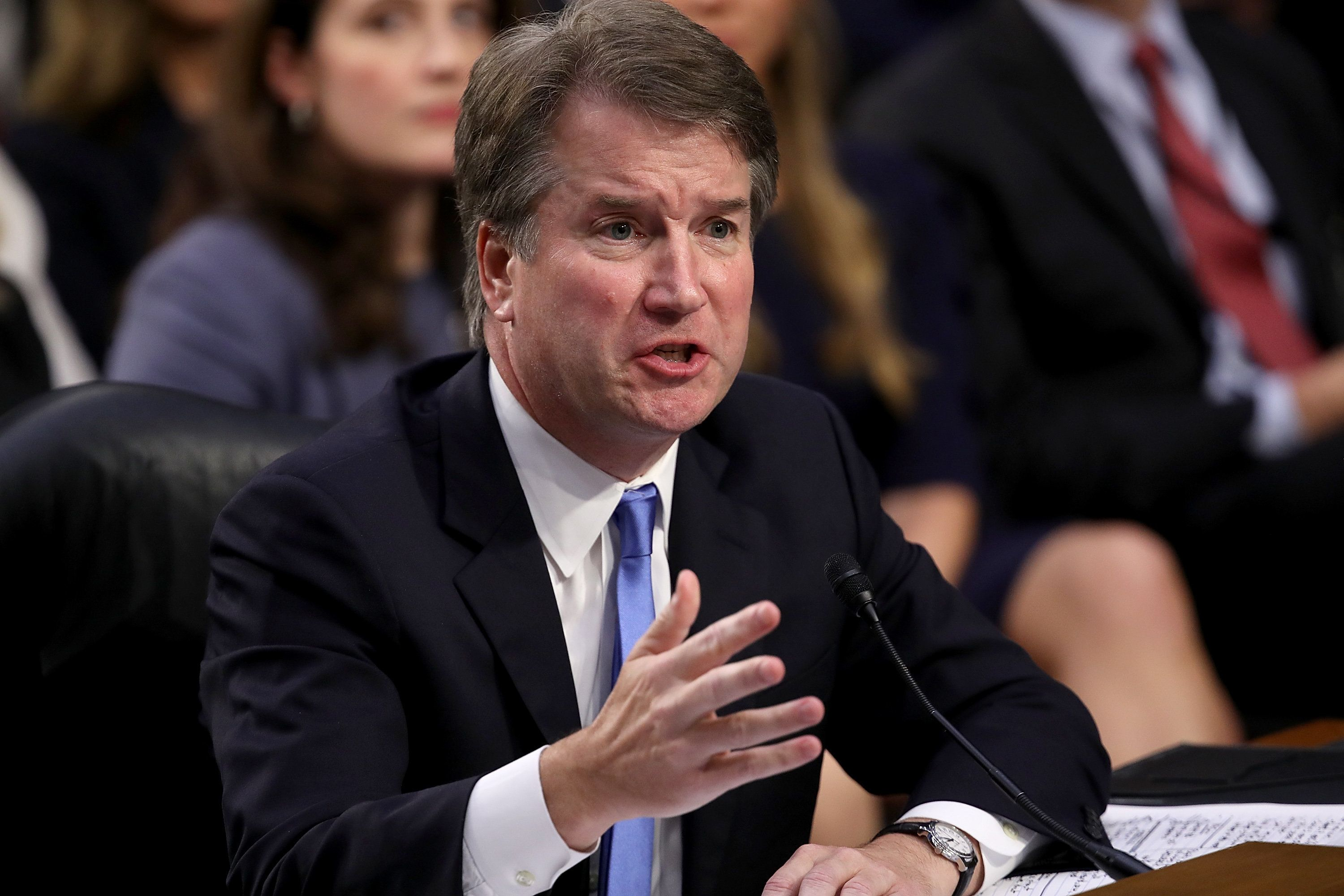 Trump questions credibility of second Kavanaugh accuser