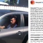 Hilary Duff filme l'homme qui la suivait en voiture pour dénoncer son