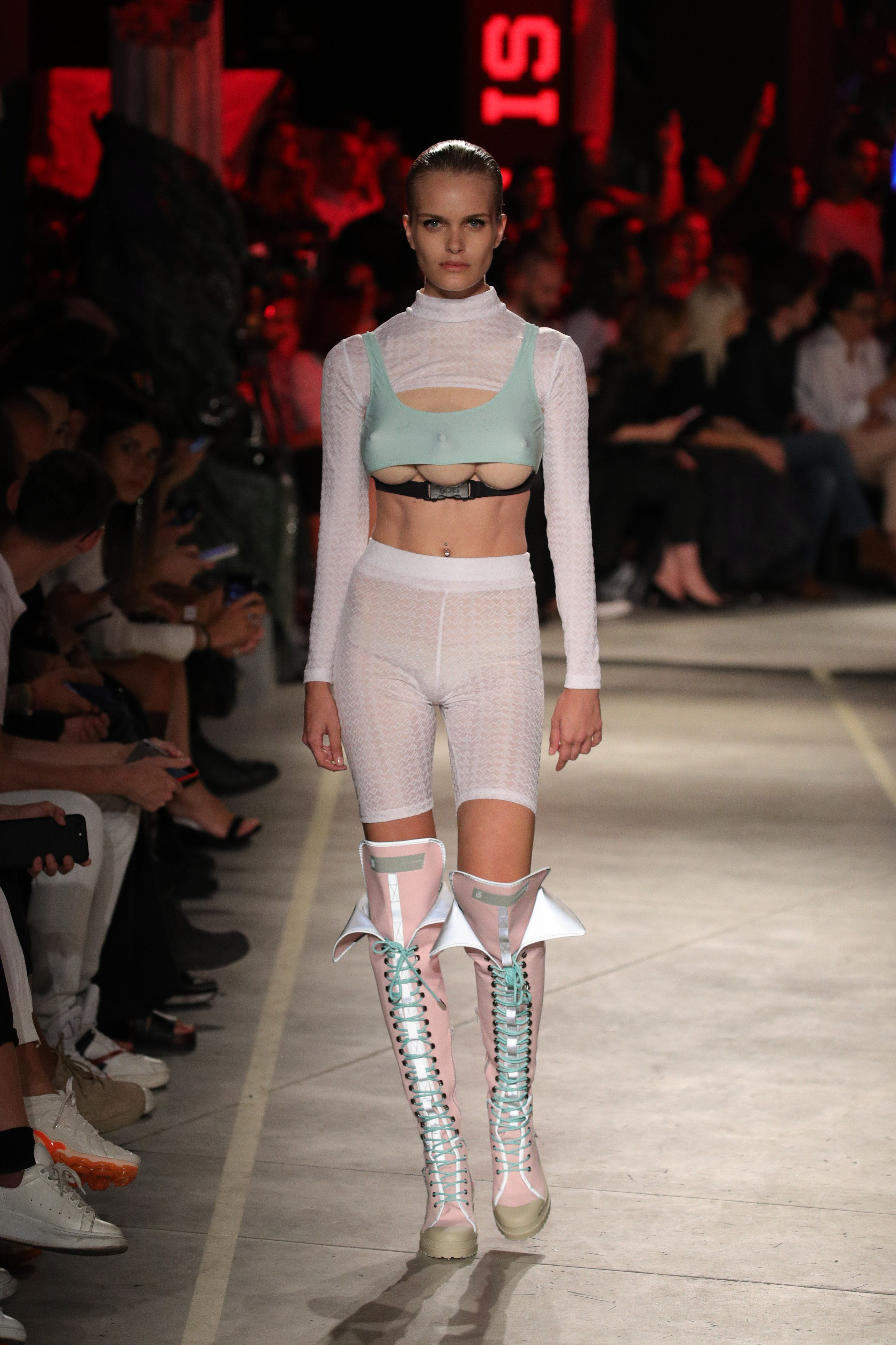 Boob fashion image