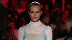 Models Wearing 3 Breasts Strut Down The Runway At Milan Fashion