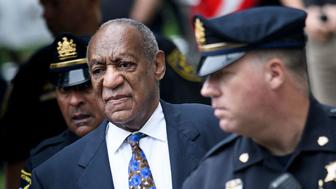 TOPSHOT - US actor Bill Cosby arrives at court on September 24, 2018 in Norristown, Pennsylvania to face sentencing for sexual assault. - Disgraced US television icon Bill Cosby returned to a Pennsylvania court on Monday to face sentencing for sexual assault, five months after his conviction at the first celebrity trial of the #MeToo era. The frail 81-year-old -- once beloved as 'America's Dad' -- faces a maximum potential sentence of 30 years for drugging and molesting Andrea Constand at his Philadelphia mansion in January 2004.The pioneering comedian and award-winning actor was found guilty April 26 on three counts of aggravated indecent assault, each punishable by up to 10 years in prison. (Photo by Brendan Smialowski / AFP)        (Photo credit should read BRENDAN SMIALOWSKI/AFP/Getty Images)