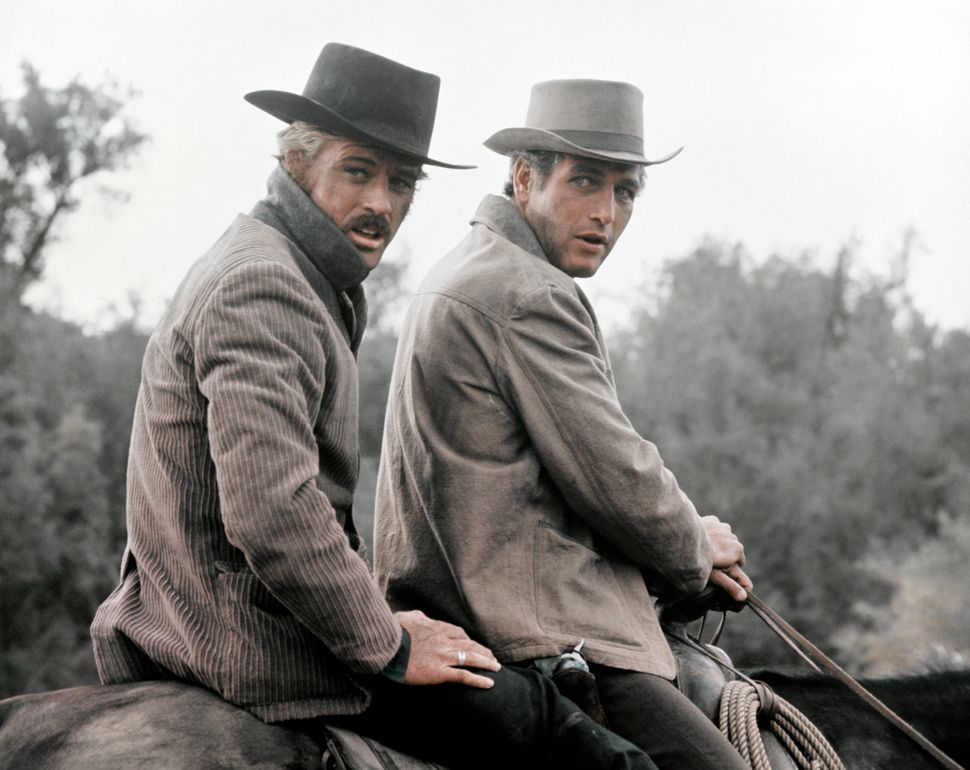"Robert Redford and Paul Newman in ""Butch Cassidy and the Sundance Kid."""