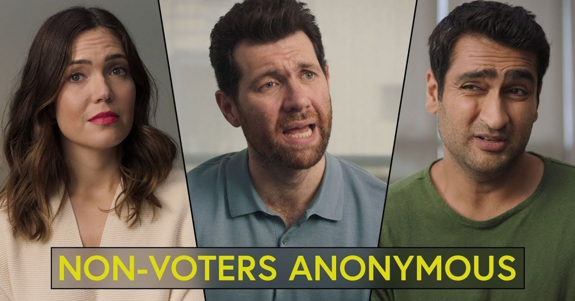 'Non-Voters Anonymous' Is A Safe Space To Realize You Seriously Need To Vote | HuffPost