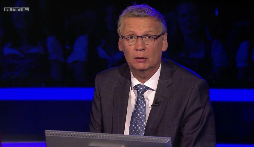 """""""WWM"""": Jauch bekommt mitten in der Show persönliche Nachricht –RTL hält Kamera"""