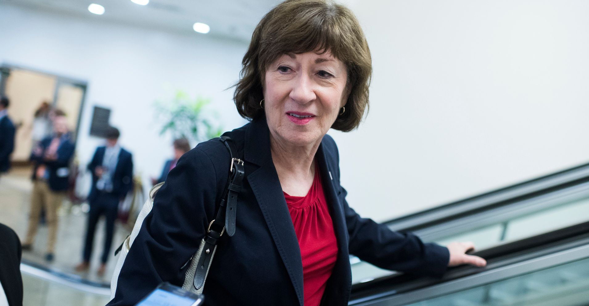 Susan Collins: 'I Do Not Believe' Kavanaugh Would Repeal Roe v. Wade | HuffPost