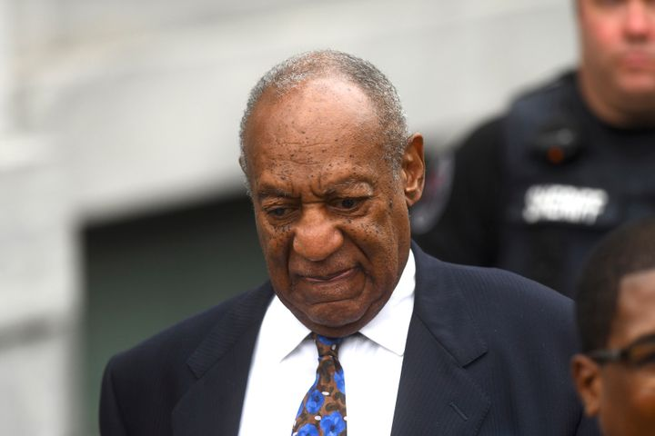 Bill Cosby departs the Montgomery County Courthouse on the first day of sentencing in his sexual assault trial on September 2