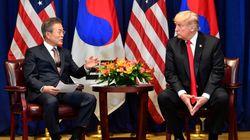 """트럼프가 """"매우 짧은 시일 내에"""" 북미정상회담이 발표될 것이라고"""
