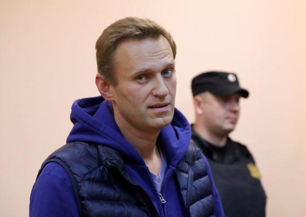 푸틴 대항마 '나발니'가 구치소를 나서자마자 다시