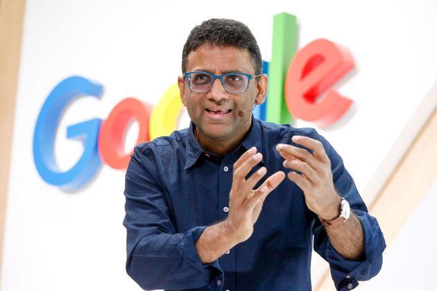 Ben Gomes, directeur de Search chez Google, lors du 20e anniversaire du géant américain,...