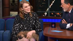 Emma Stone Falls Hard For Shelter Puppy After Saying She Can't Adopt