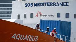 Το πλοίο Aquarius κατευθύνεται προς τις γαλλικές ακτές, ζητώντας λιμάνι για τους 58