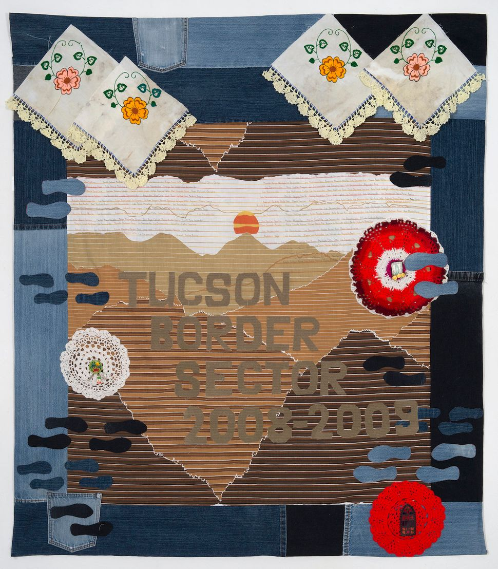 The Migrant Quilt Project from 2008 to 2009. Created by Bonnie Halchin-Smith.