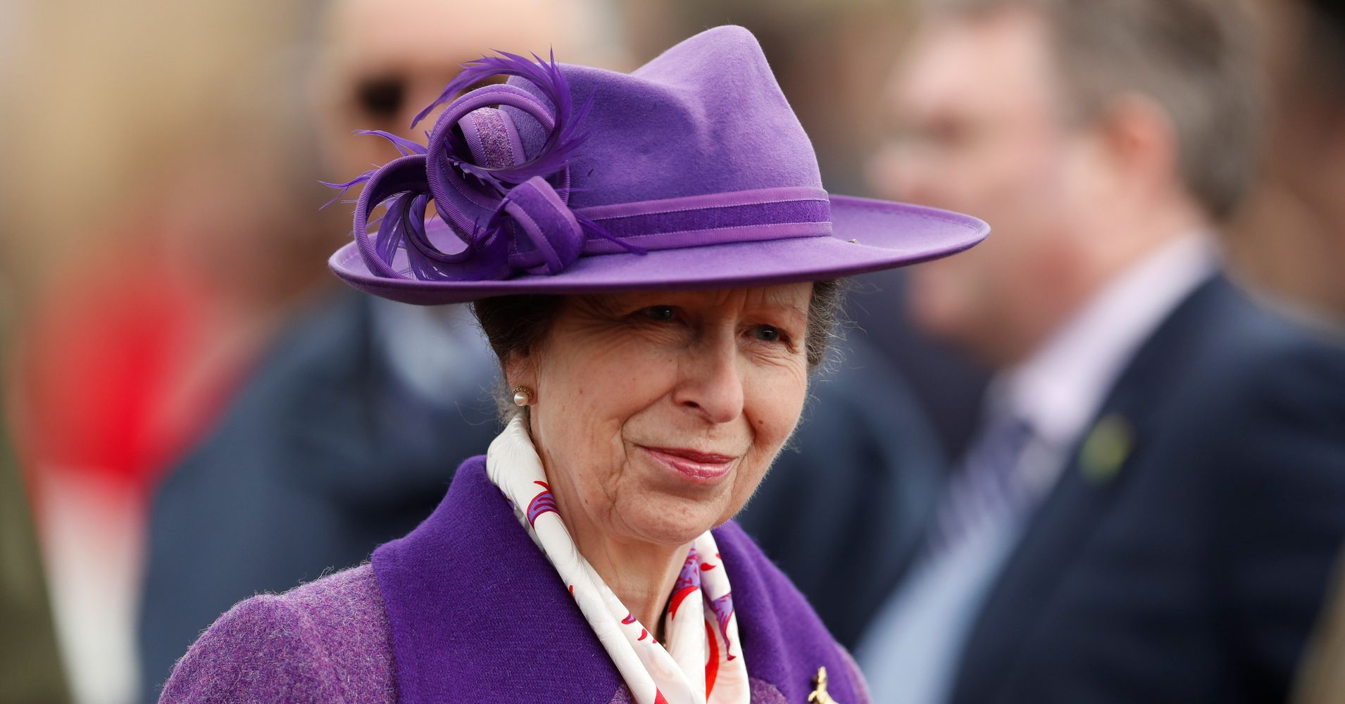 Princess Anne Won't Shake Hands For A Very Royal R...
