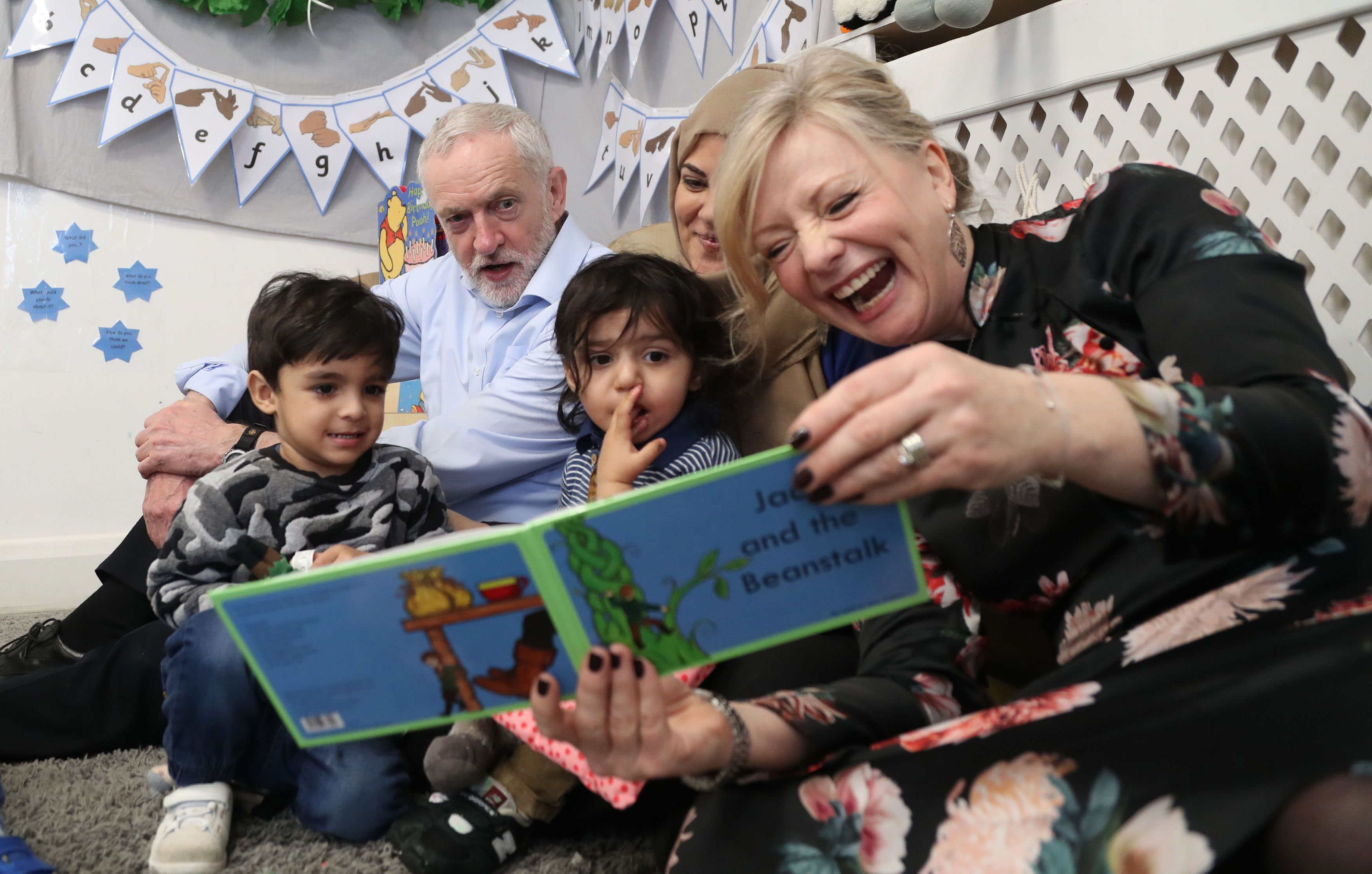 Labour Plans Dramatic Expansion Of Free Childcare