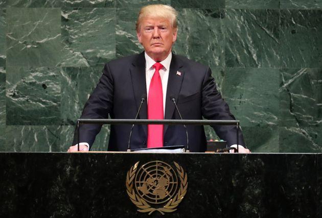 Τραμπ στον ΟΗΕ: Το Ιράν είναι μια διεφθαρμένη δικτατορία που σπέρνει χάος και