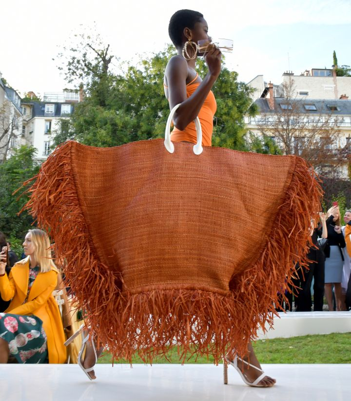 A model on the runway at theJacquemus spring/summer 2019 show at Paris Fashion week on Monday.