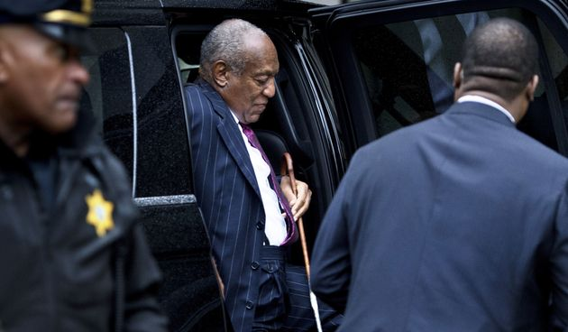 Bill Cosby arrives for a second day of a sentencing hearing at the Montgomery County Courthouse Sept....