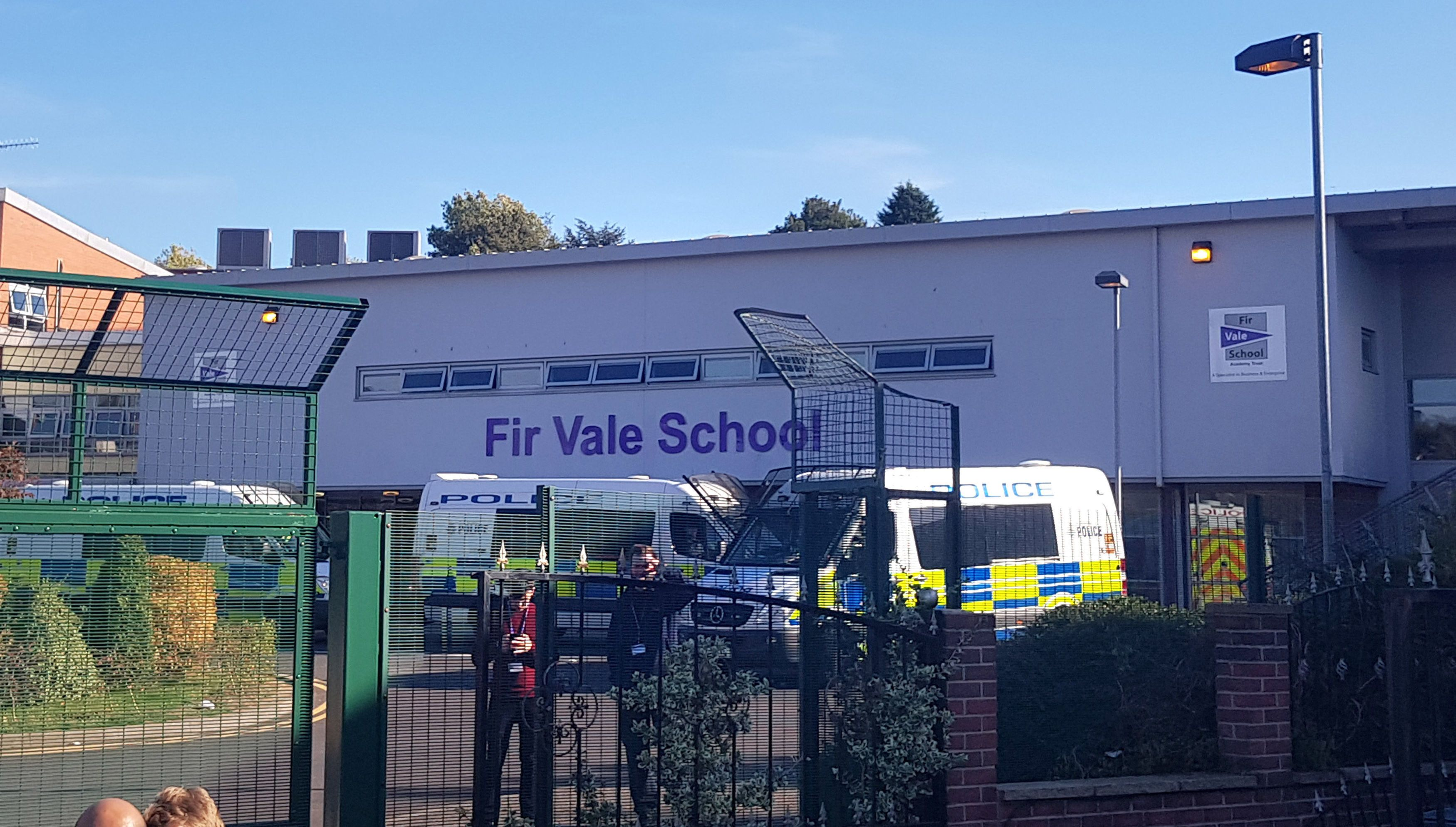 Police Helicopter Called In After Sheffield School Fight Escalates Into Mass