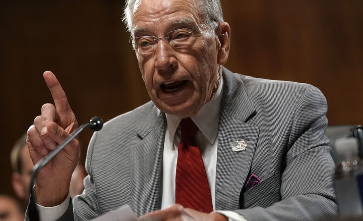 The Republicans on the Senate Judiciary Committee, led by Chuck Grassley (Iowa), are hiring a woman as outside counsel to que