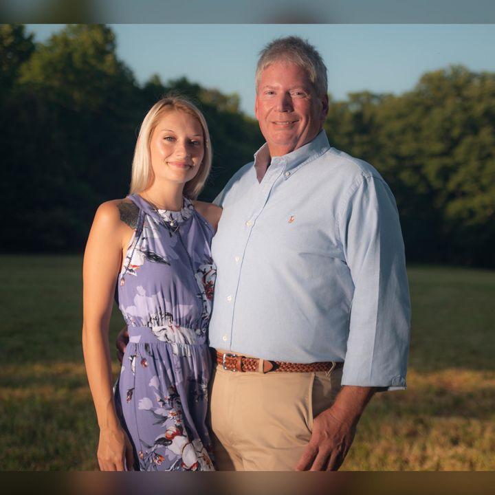 Chelsea Lanai McCullough, age 21, with Bruce Maynard, age 53.