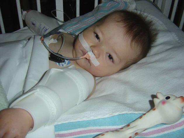 Reed dos días después de la operación por el tumor de