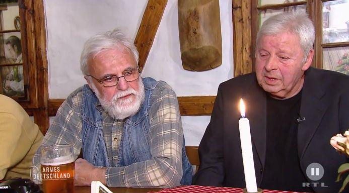 Hartz-IV-Show: Berliner Rentner platzt der Kragen: