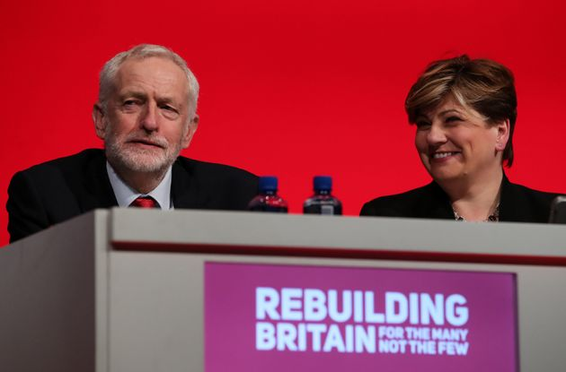 Thornberry's speech was watched by Labour leader Jeremy Corbyn