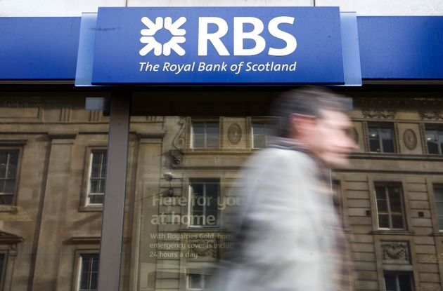RBS was part-nationalised to the tune of £45bn
