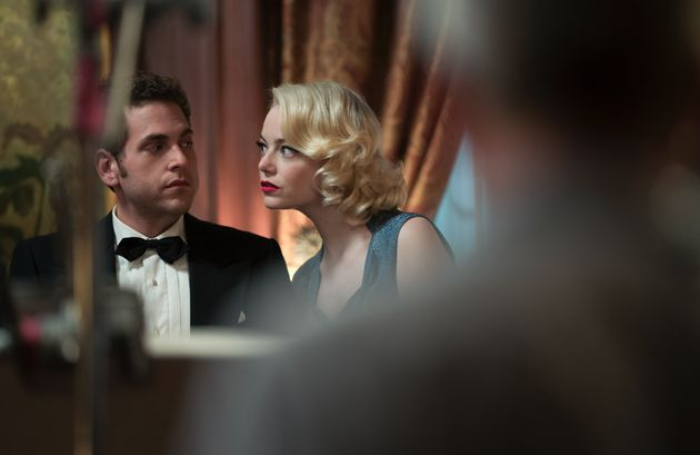 Jonah Hill and Emma Stone in