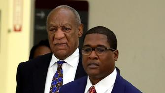 NORRISTOWN, PA - SEPTEMBER 24: Actor and Comedian Bill Cosby arrives with his spokesman Andrew Wyatt at the Montgomery County Courthouse for sentencing in his sexual assault trial September 24, 2018 in Norristown, Pennsylvania.   (Photo by David Maialetti-Pool/Getty Images)