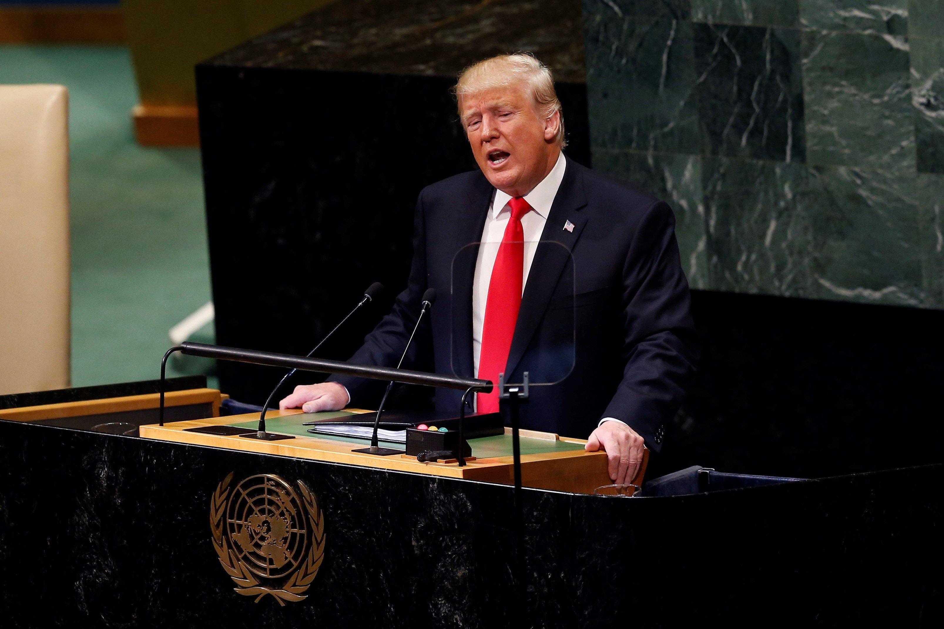"""트럼프 대통령이 김정은 위원장에게 """"감사하다""""고"""