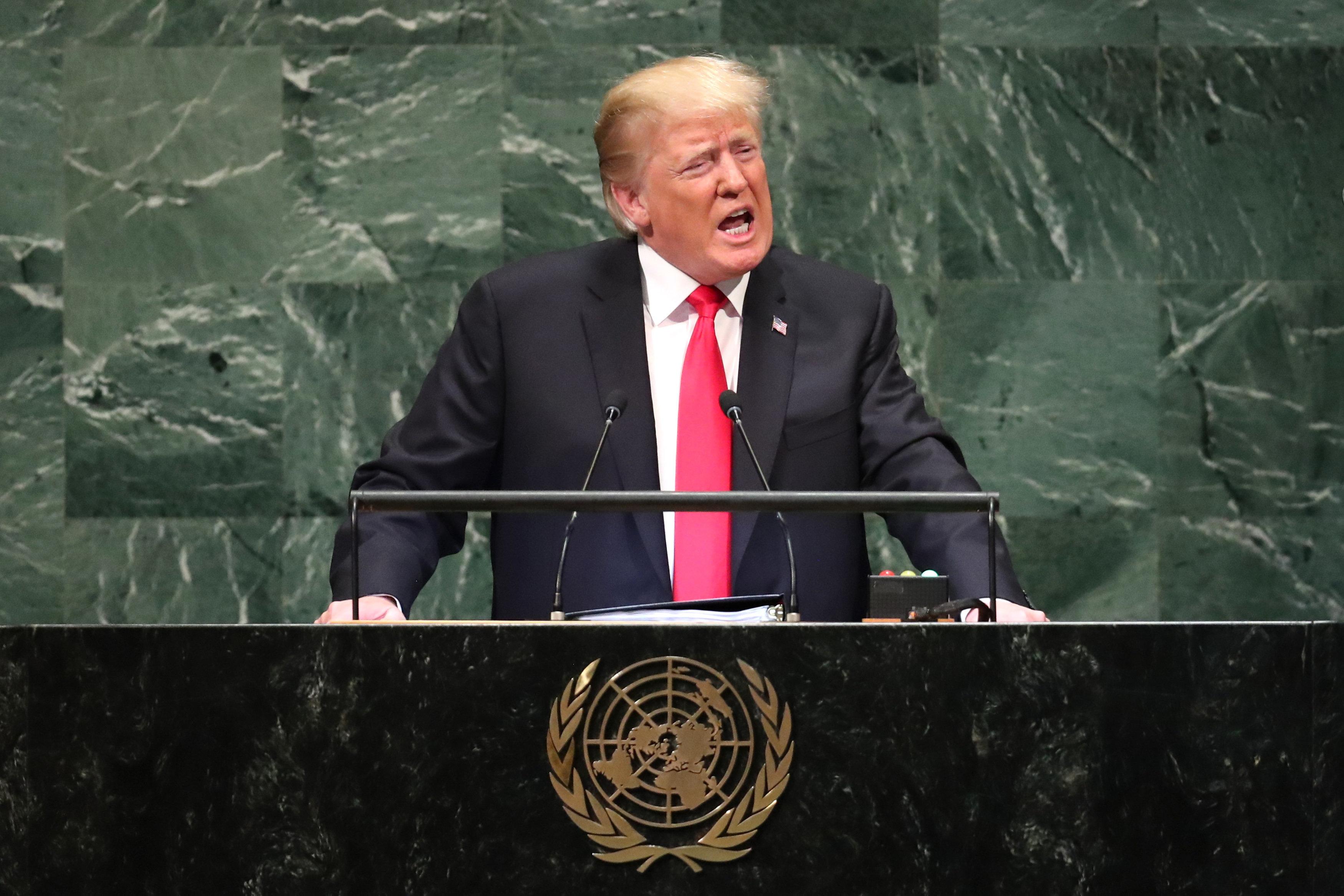 Trumps Weltenbrandrede: Warum die UN-Ansprache des US-Präsidenten ein Fanal