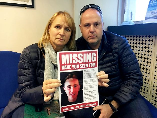 Vicki and Ian Jones are adamant their missing son is still