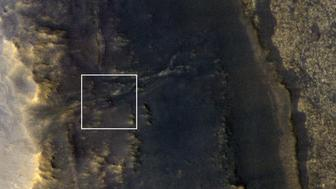 NASAs Opportunity rover has been photographed on Mars after enduring a global dust storm