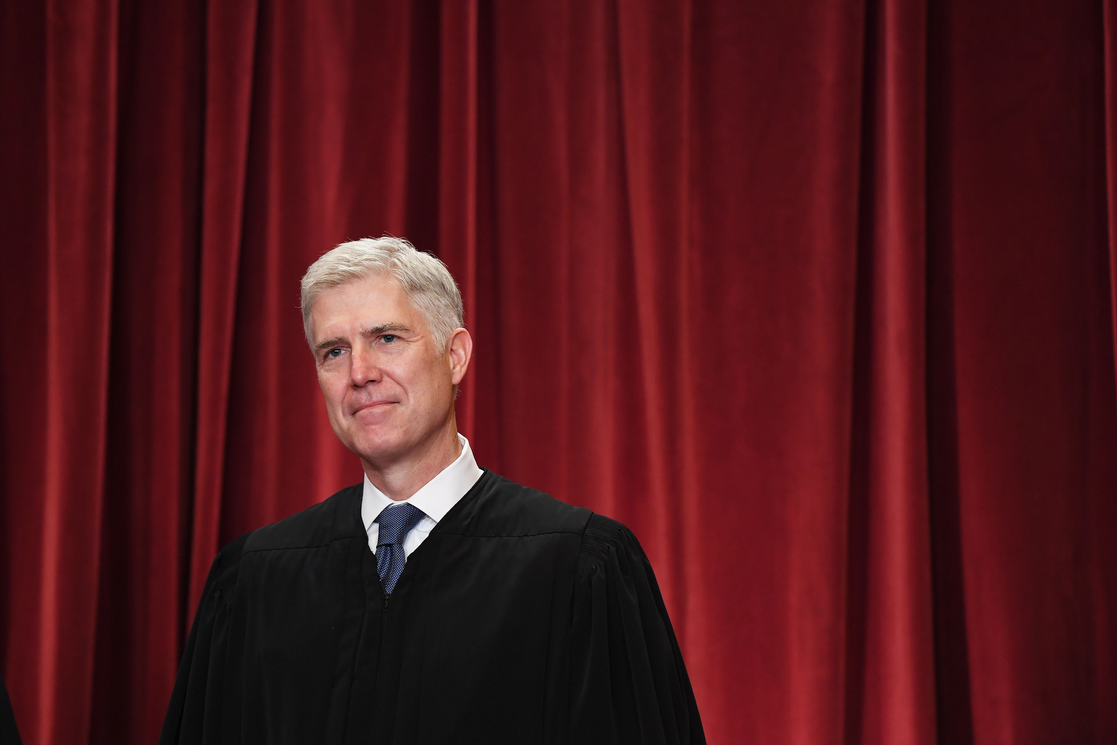 Justice Neil Gorsuch, a conservative jurist, was confirmed to the Supreme Court without facing any allegations of sexual impropriety in 2017.