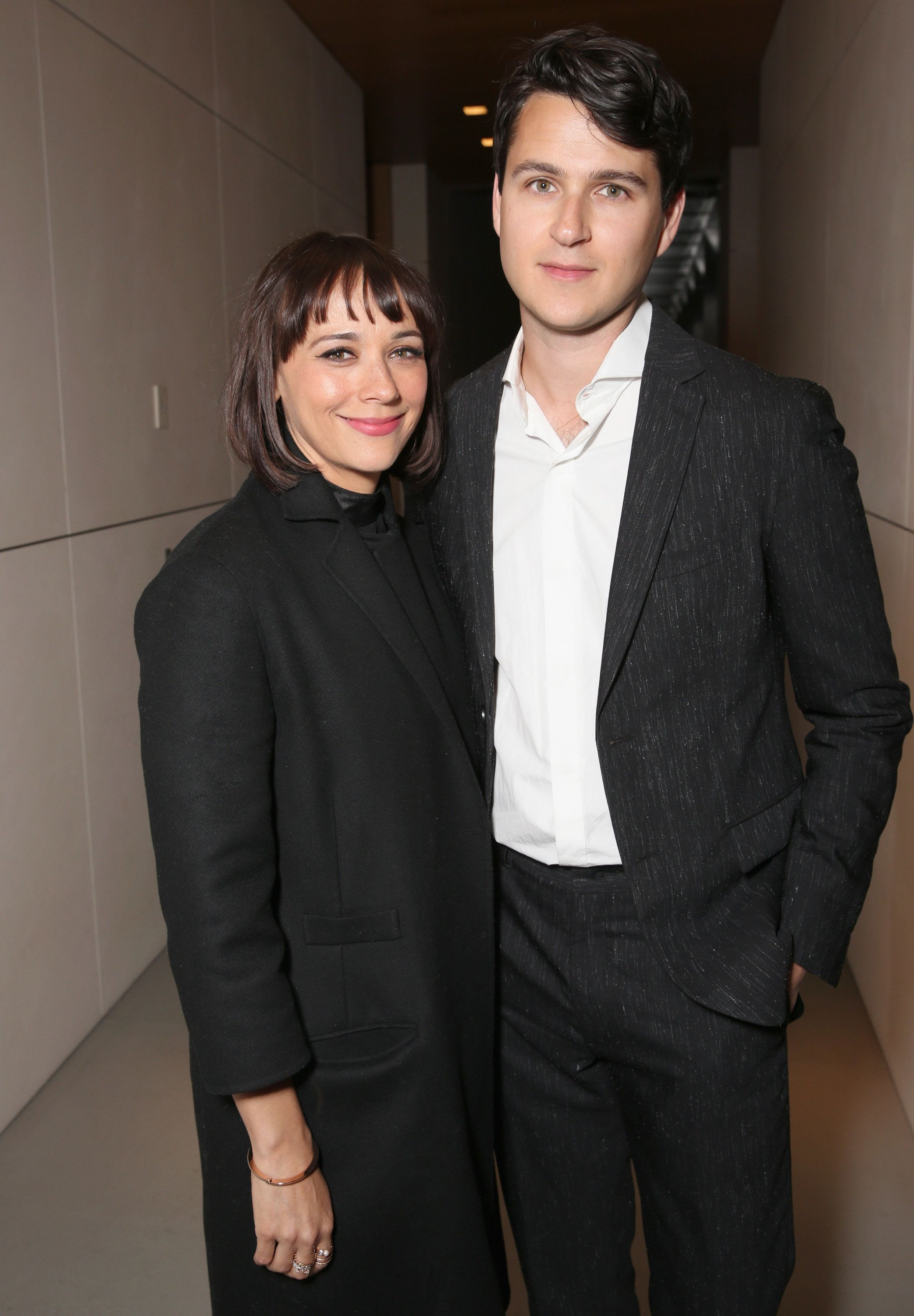 BEVERLY HILLS, CALIFORNIA - MARCH 24:  Actor Rashida Jones and musician Ezra Koenig attend UCLA IOES celebration of the Champions of our Planet's Future on March 24, 2016 in Beverly Hills, California.  (Photo by Todd Williamson/Getty Images)