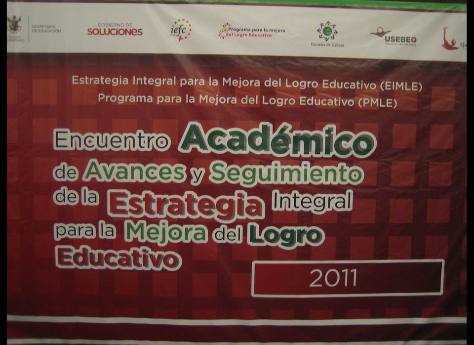This month teachers, students, and educational officials from two states, Querétaro and Zacatecas, met up in Querétaro to tut