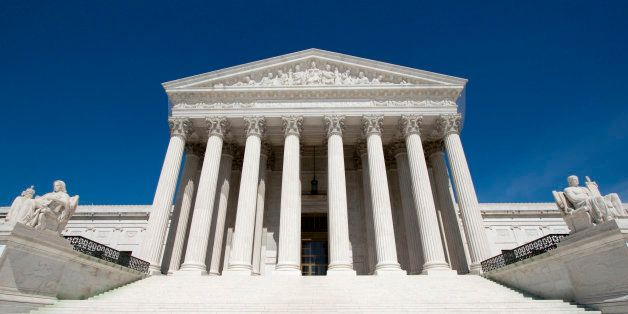 The United States Supreme Court in Washington D C USA