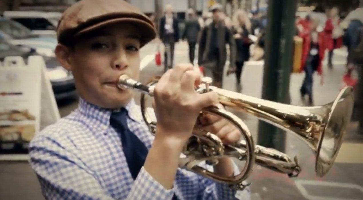 The trumpet of gabriel