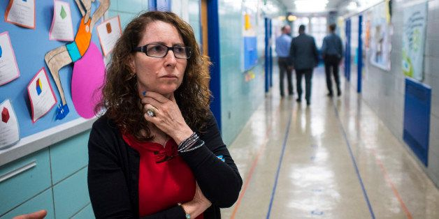 NEW YORK CITY, NY - JUNE 9: Eva Moskowitz of Success Academy Charter Schools at a Harlem location in June. (Photo by Benjamin