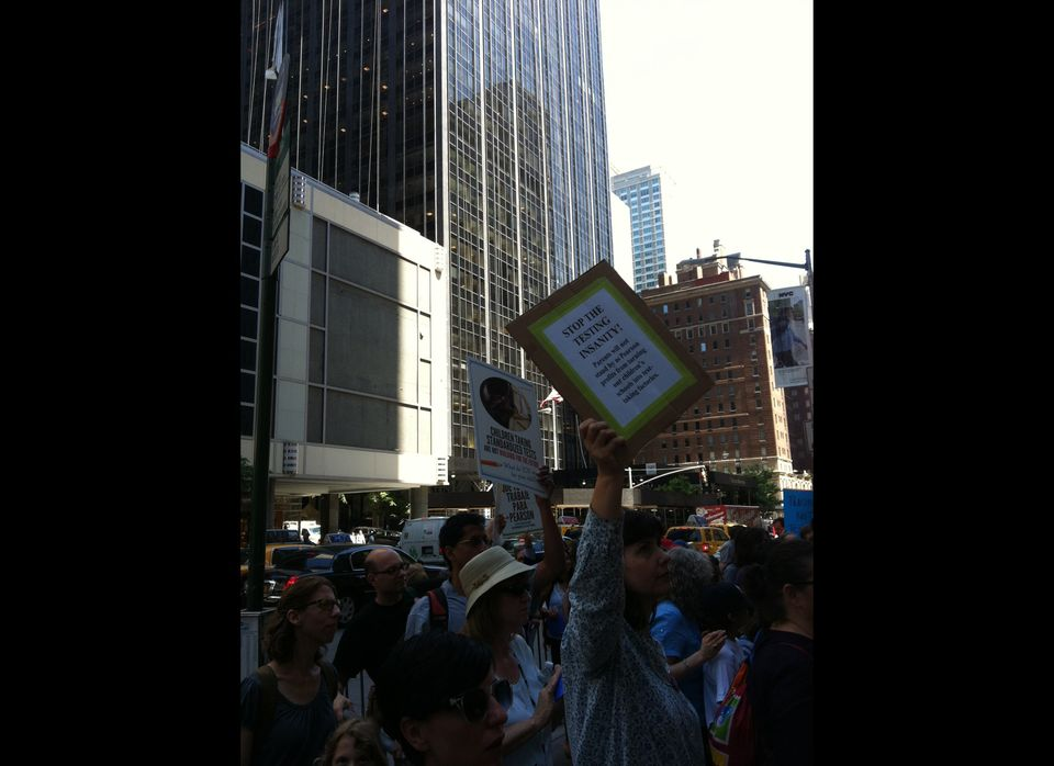 New York Standardized Testing Protest Brings Parents