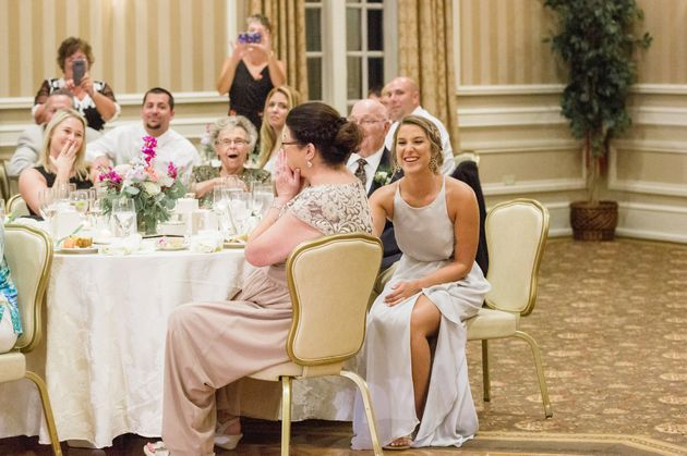 The mother of the bride was floored when she saw her daughter wearing her 1979 wedding