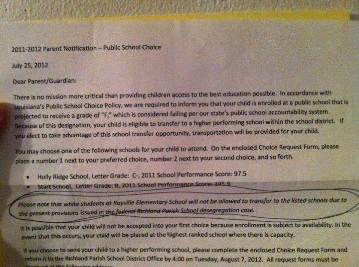 Rayville Elementary, Failing Louisiana School, Will Not