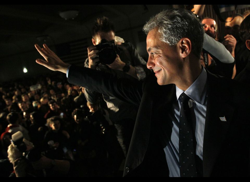 "Rahm Emanuel, former White House chief of staff, <a href=""https://www.huffpost.com/entry/rahm-emanuel-wins-chicago-mayor_n_82"